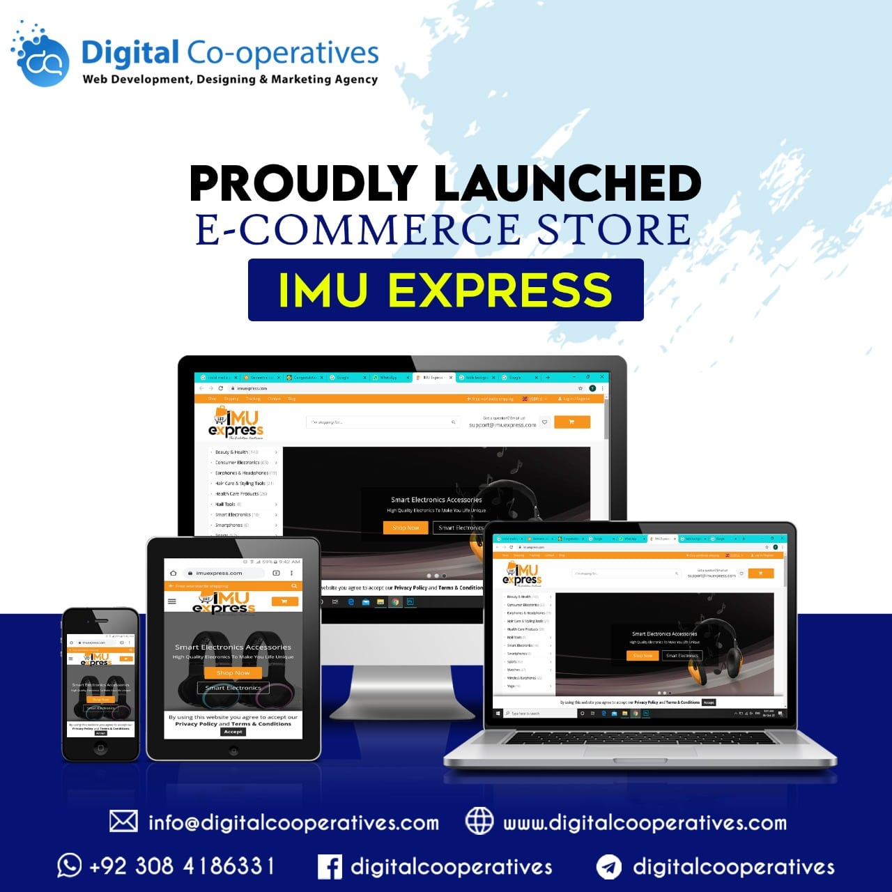 IMU Express best E commerce Store builder and designer
