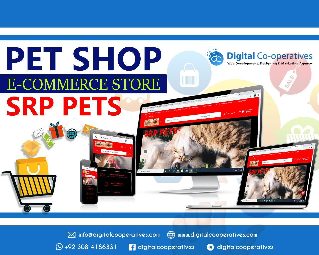 Pet Website Designer Pet Shop Website Design